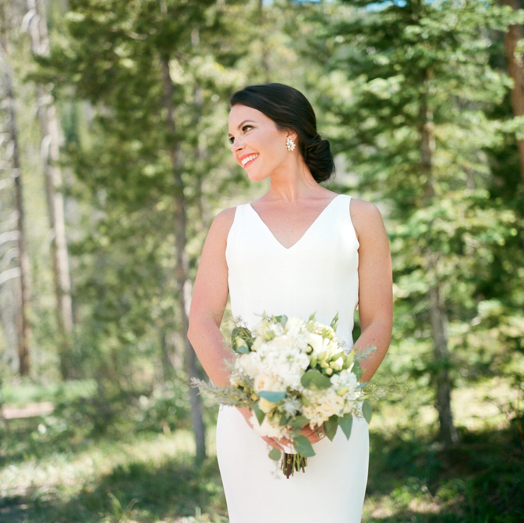 Vail Colorado Wedding Bridal Portraits