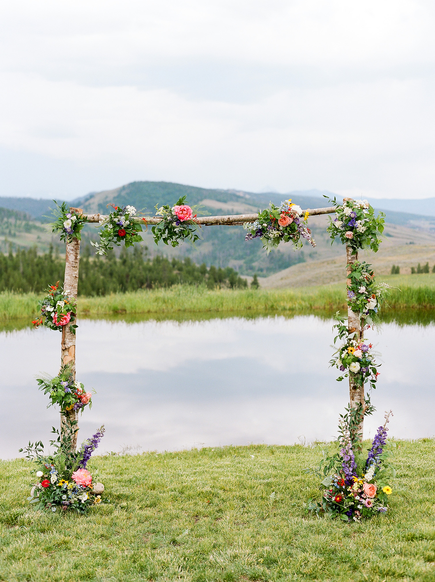 Colorado Destination Wedding, Ceremony site