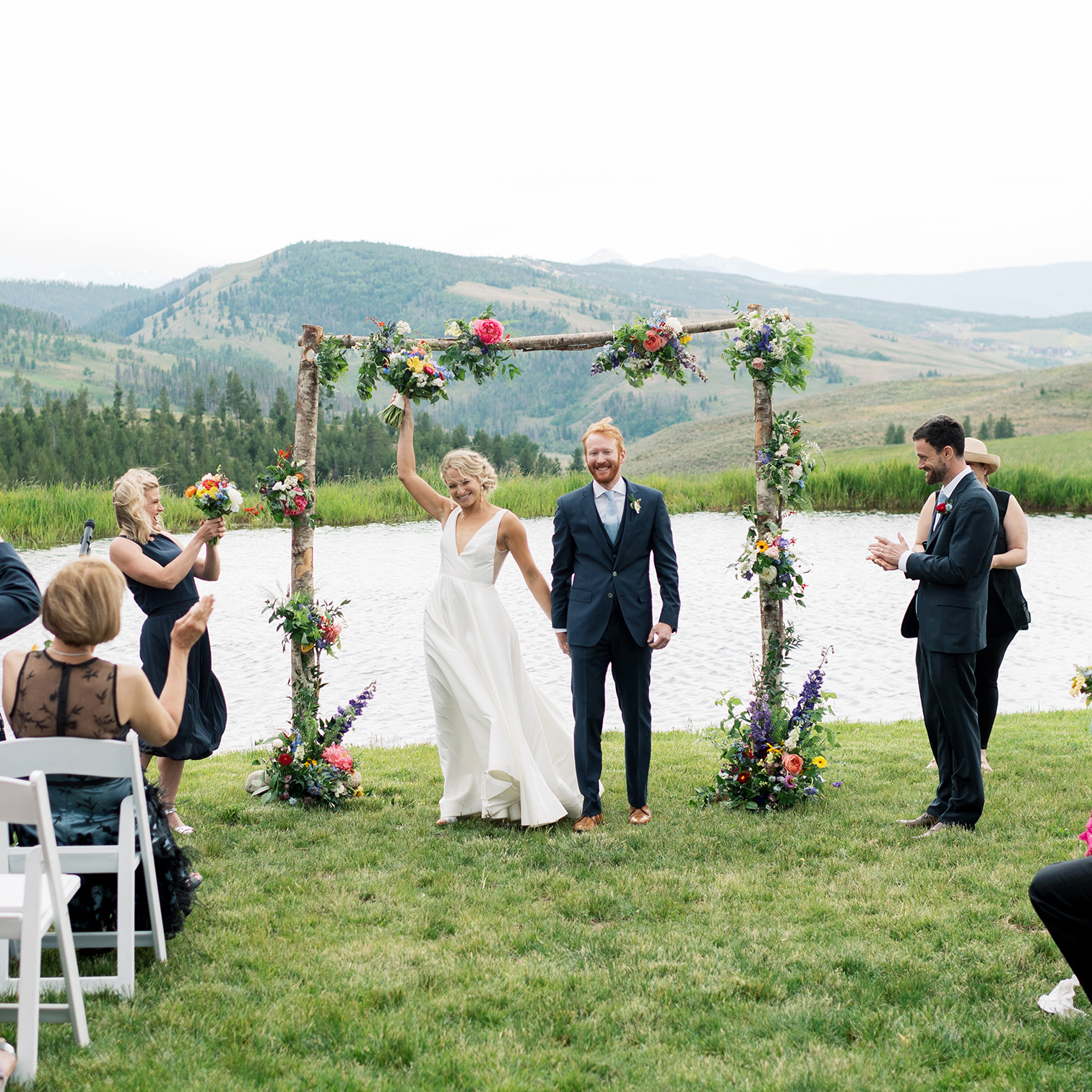 Colorado Destination Weddings, Mountain Wedding Ceremony