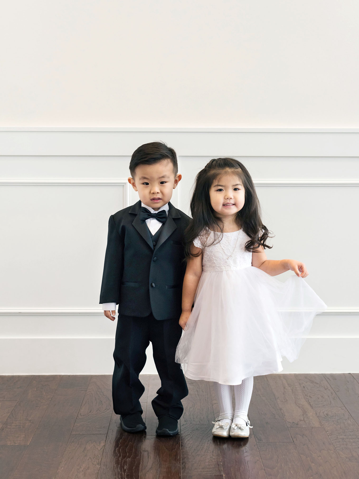 Colorado Wedding Photographers, Flower Girl and Ring Bearer