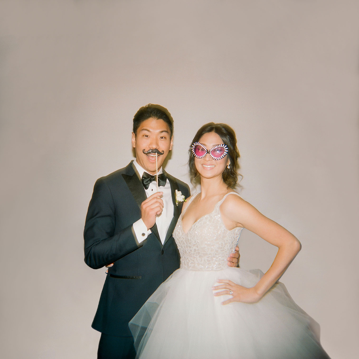 Denver Wedding Photographer, Winter Wedding, Denver Colorado, Photo-Booth Portraits