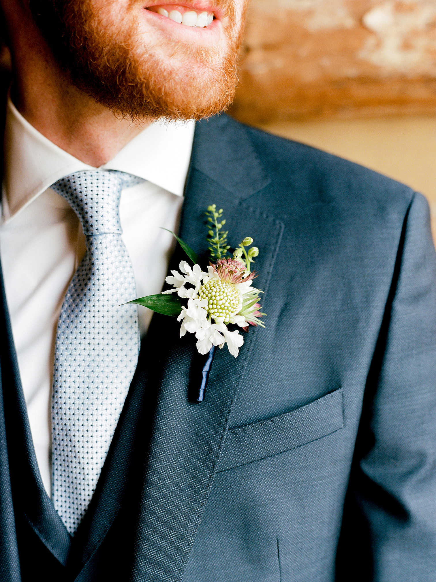 Destination Wedding Colorado, Groom Boutonniere