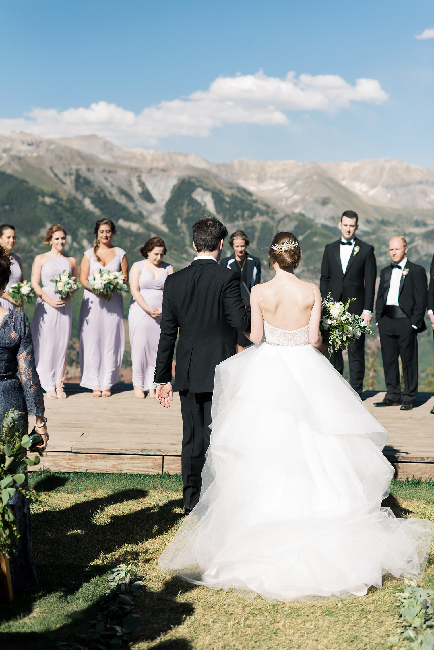 Telluride Summer Weddings, Gorrono Ranch, Destination Wedding, San Sophia Station Ceremony