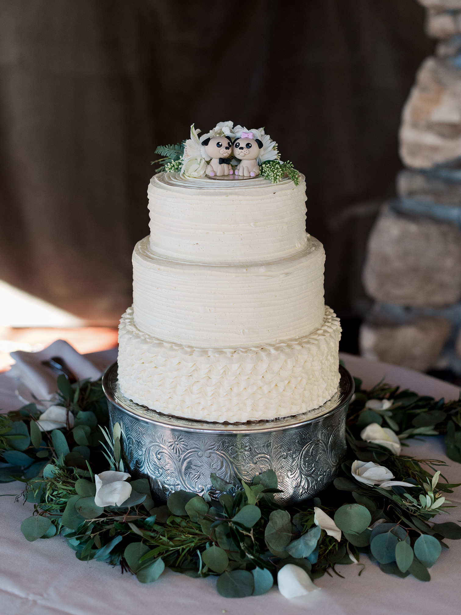 Telluride Summer Weddings, Gorrono Ranch, Destination Wedding, Three Tier Wedding Cake