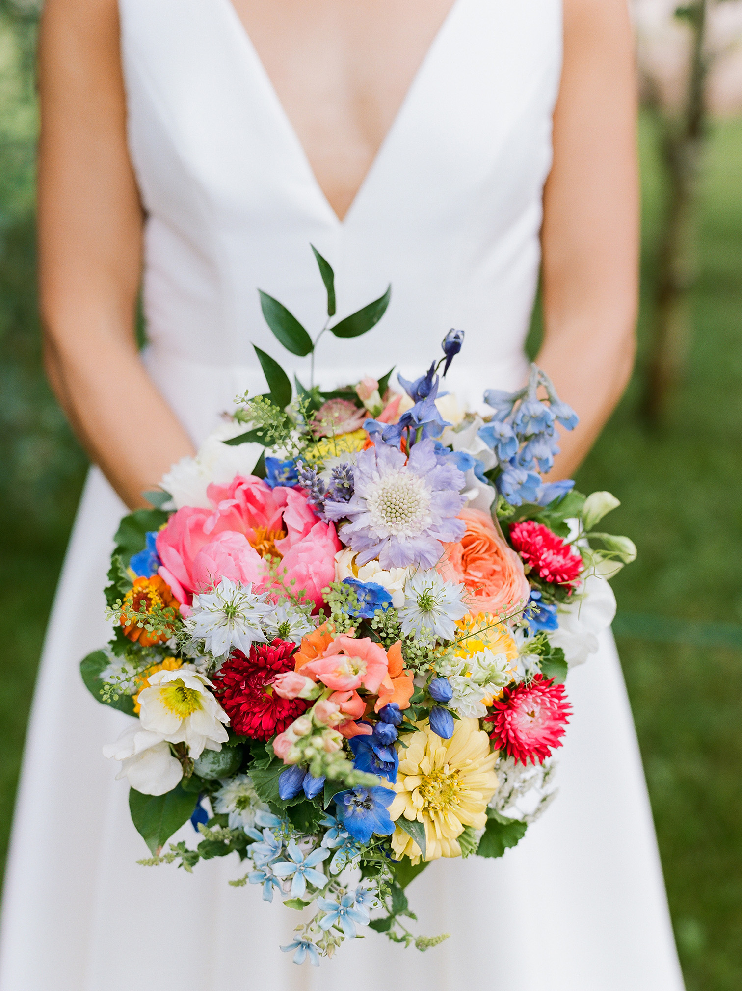 Winter Park Colorado Wedding, Colorful Bridal Bouquet , Denver Wedding Photographers