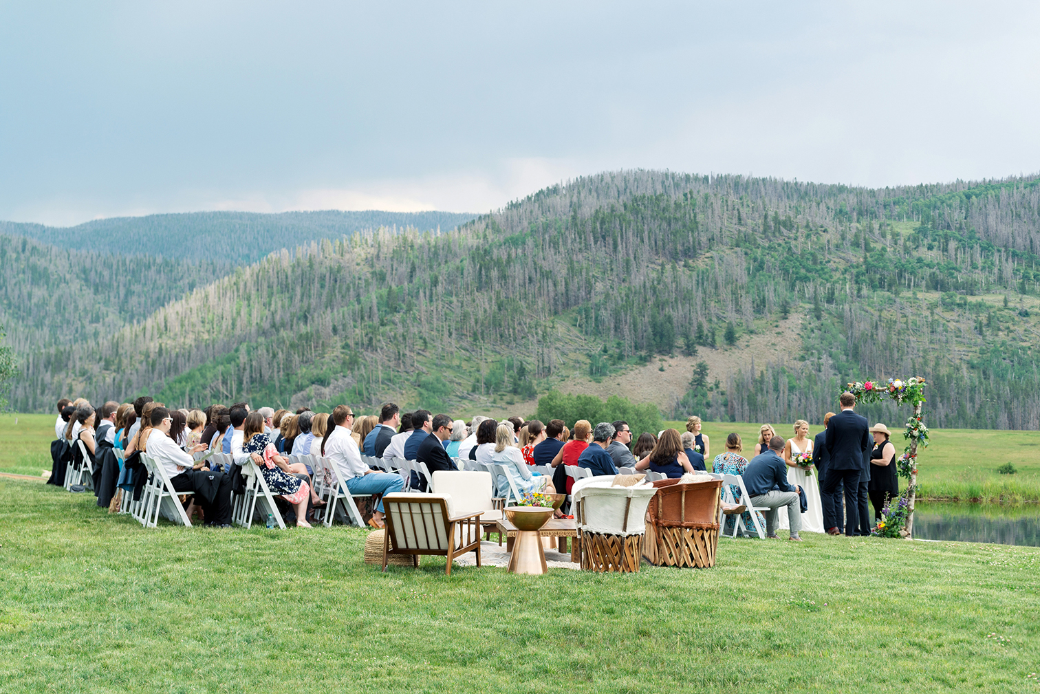 Destination Wedding Colorado, Mountain Wedding Ceremony, Denver Wedding Photographers