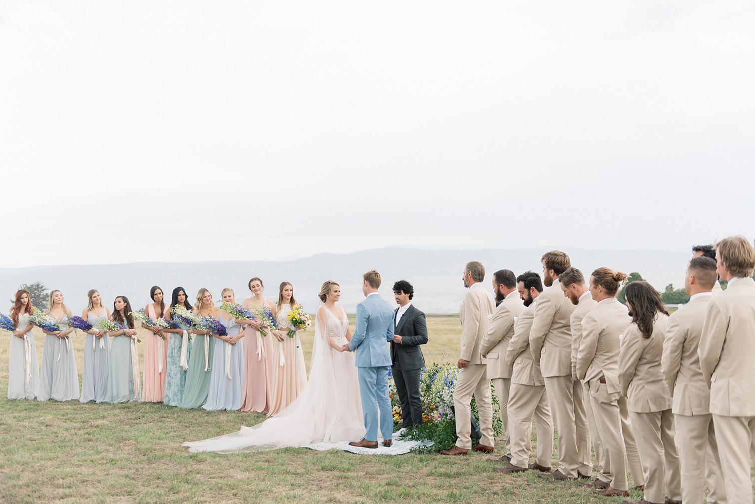Colorado Photographers, best desintation weddings, mountaintop ceremonies, colorful summer weddings, Denver wedding photographers