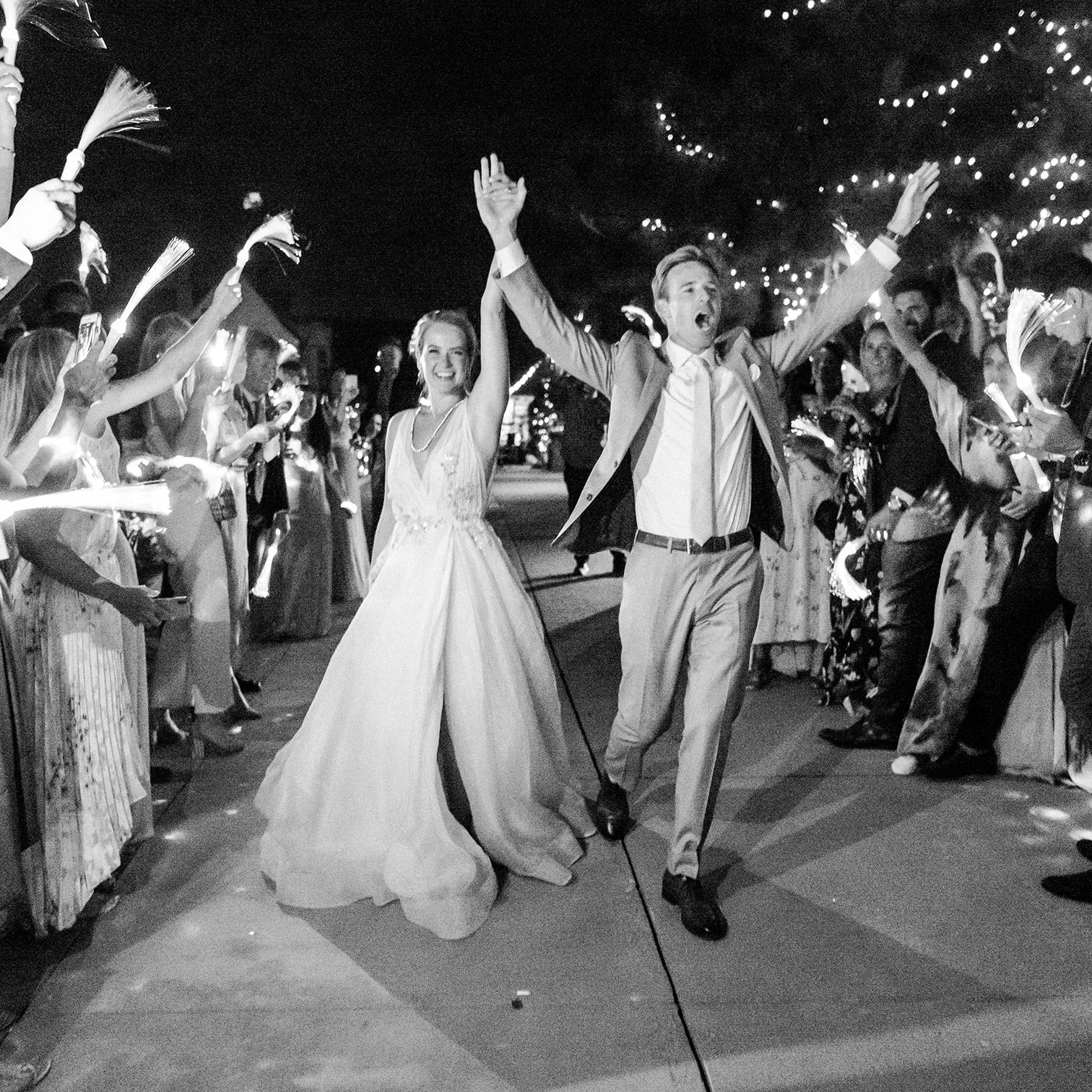 Colorado Wedding Photographers, Epic Exit Photos, Black and White, Destination Weddings, Denver Photographers