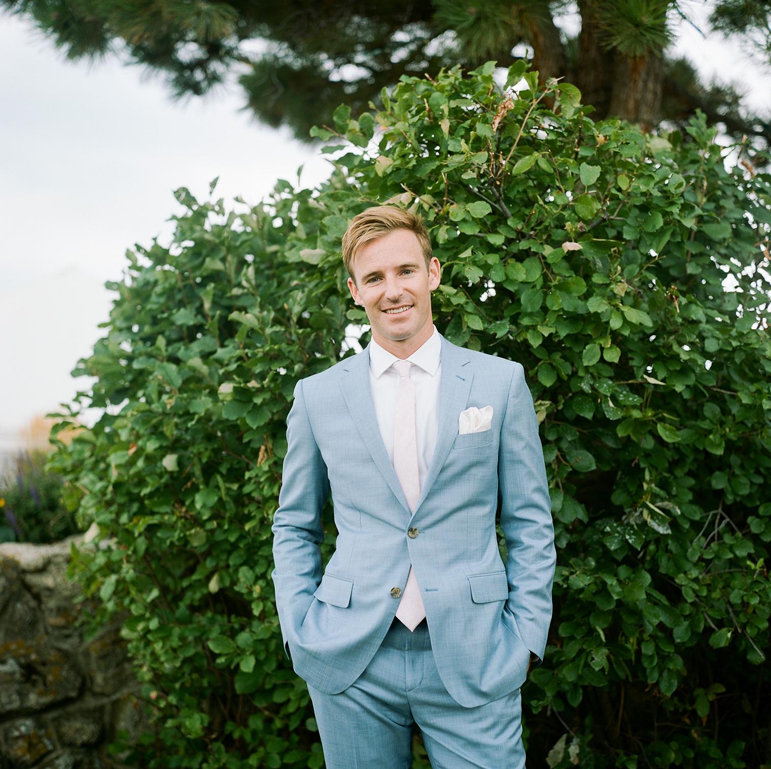 Wedding Photographers Colorado, Groom in Blue Suit, Desintation Weddings in Colorado, Denver Wedding Photos