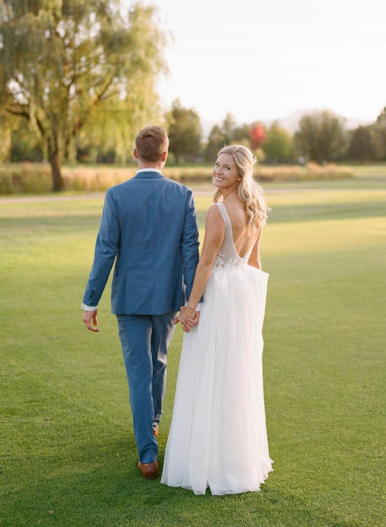 Colorado wedding, Boulder photographers, bride and groom golden hour
