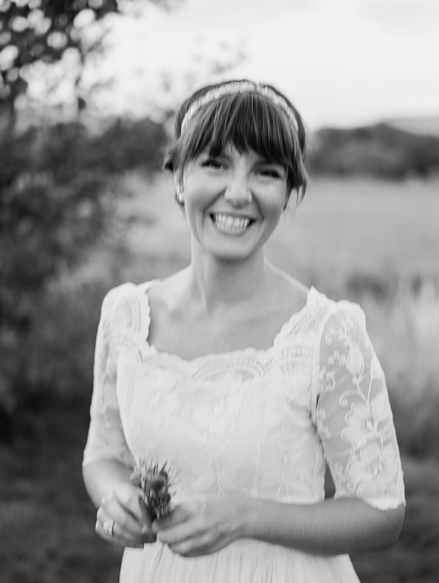the little nell, bride portraits, black and white