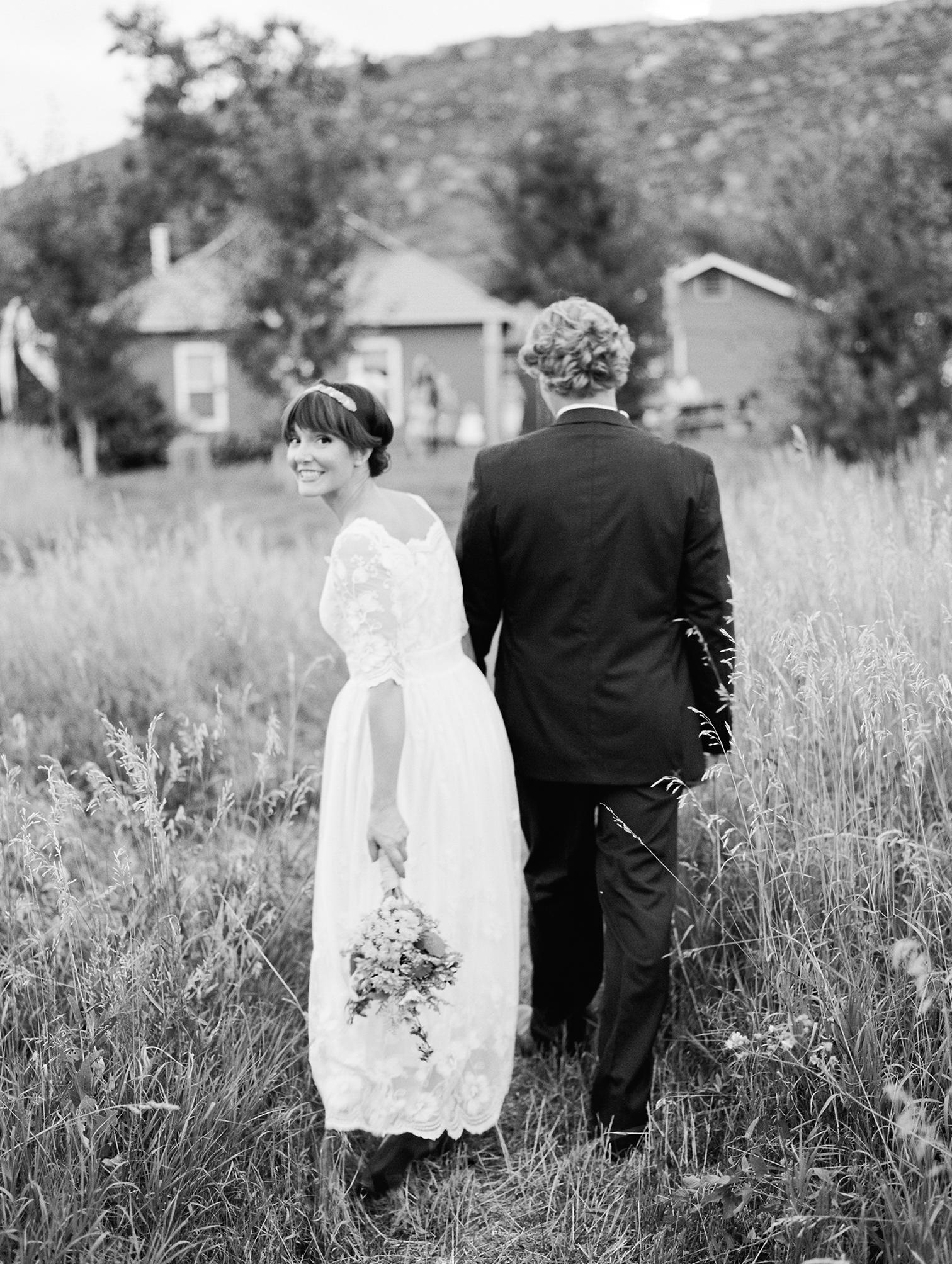 Aspen Colorado Wedding Photography, bride and groom