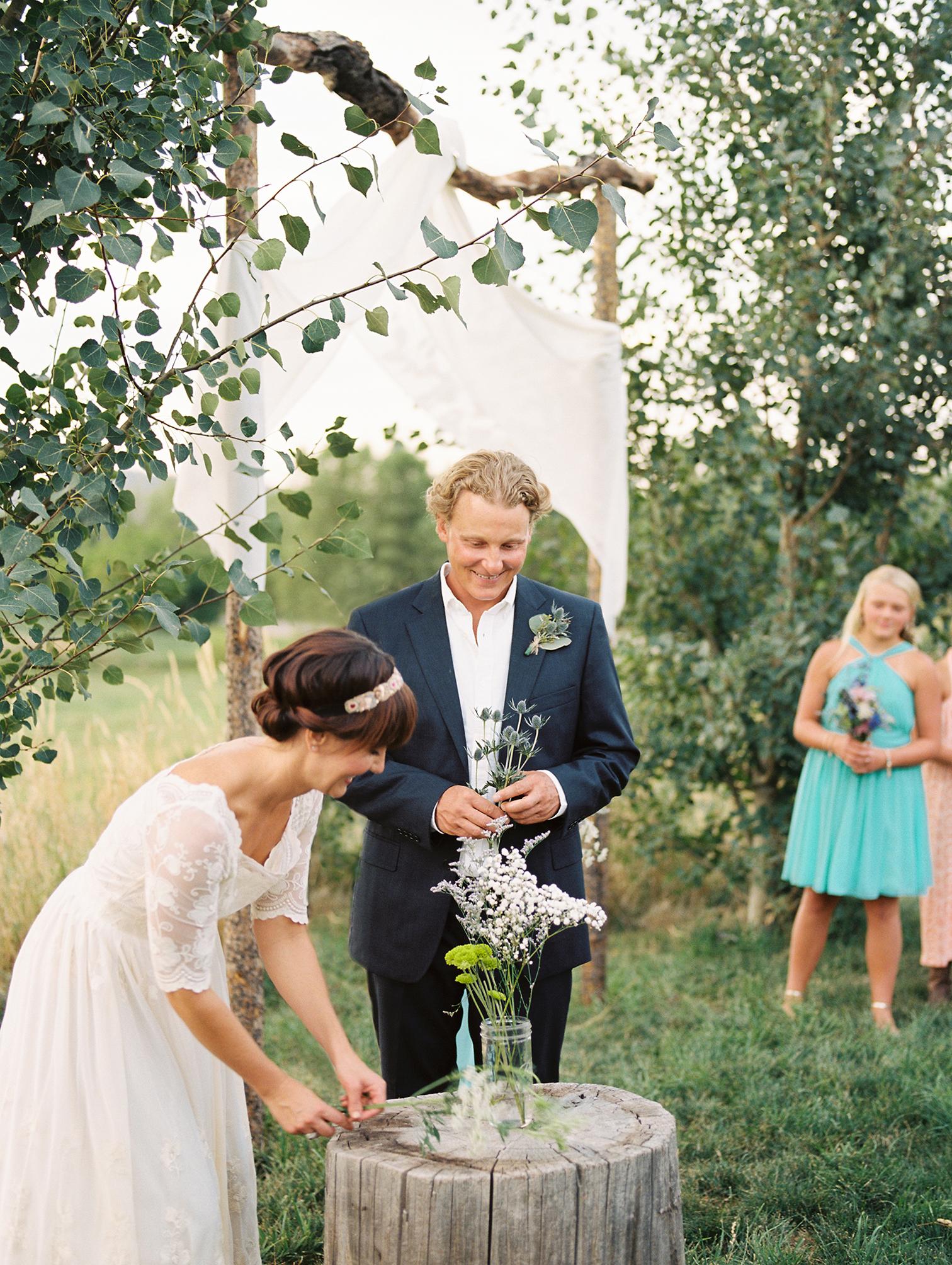 Aspen Meadow Resort, wedding ceremony