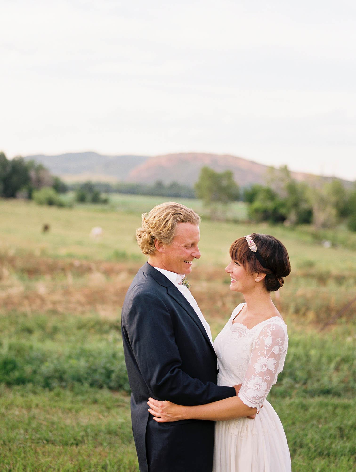 wedding photographer in Aspen, Wedding celebrations, bride and groom