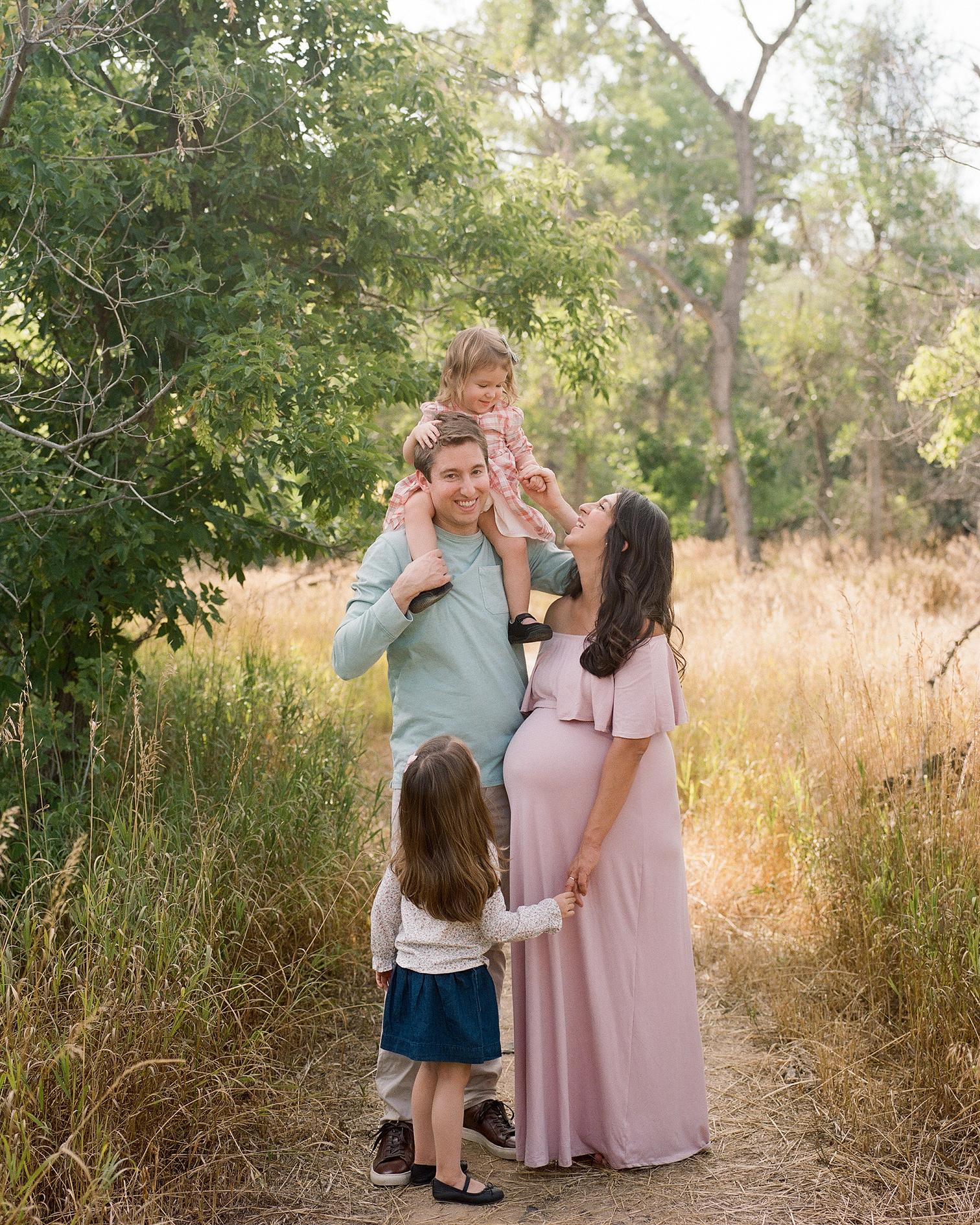 roaring fork valley family, Basalt Colorado photos