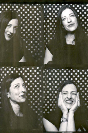 Photobooth pictures of Danielle DeFiore